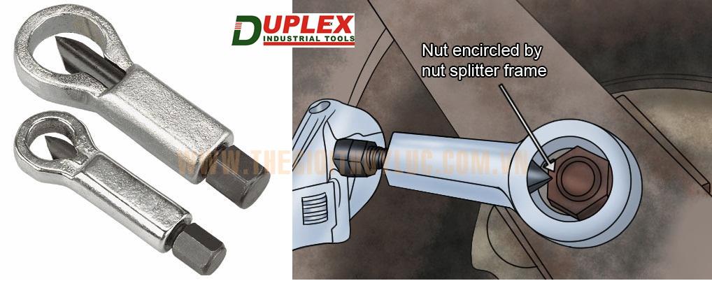 cắt đai ốc cơ khí - Duplex