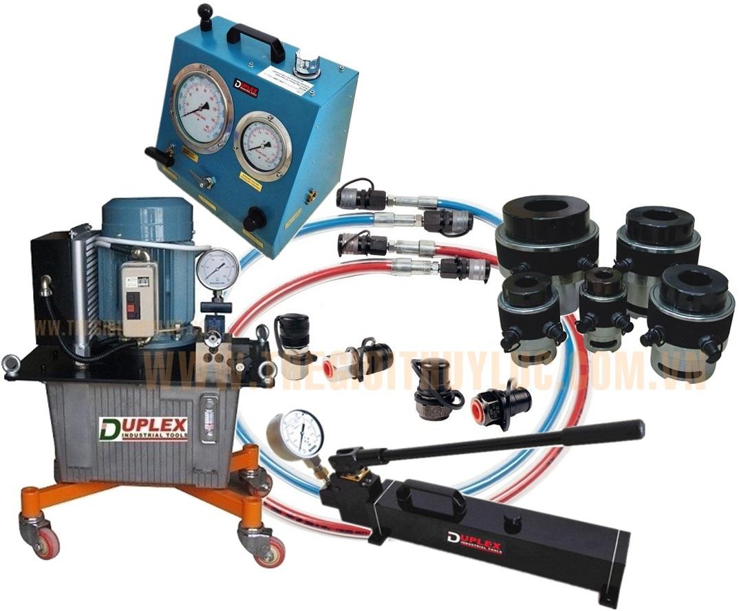 Bơm điện cao áp thủy lực - Duplex